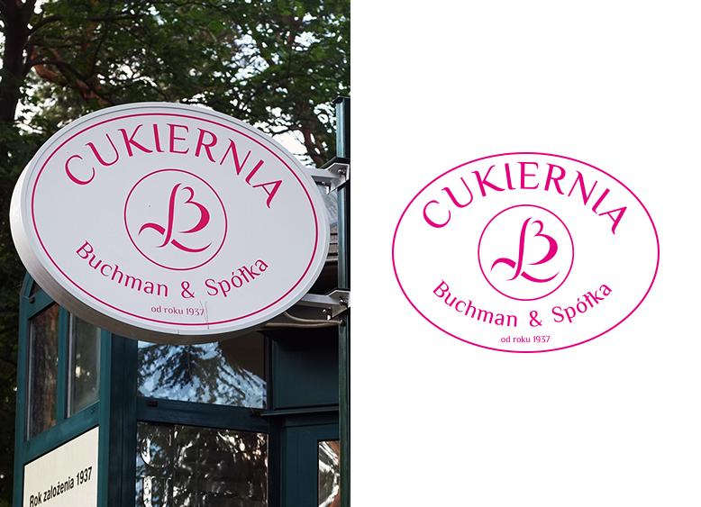 projekt logo dla cukierni